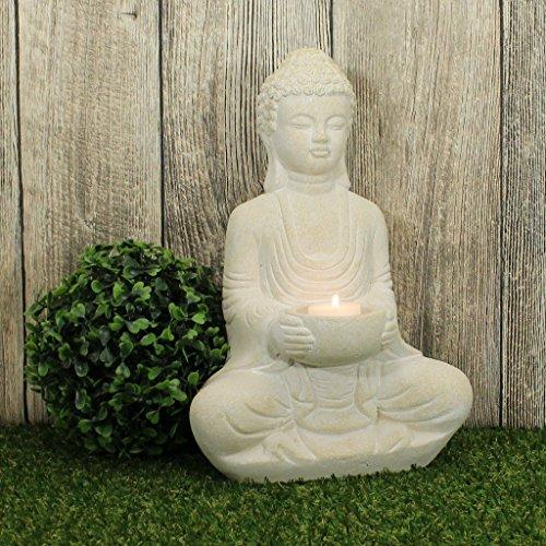 Buddha Deko Figur Mit Teelichthalter Magnolia
