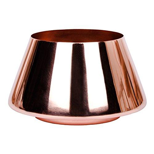 Dekoschale Teelichthalter Kupfer