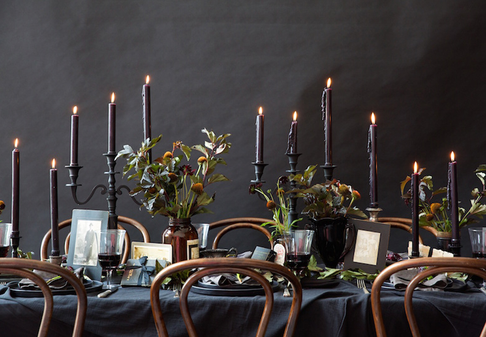 A WICKEDLY GORGEOUS HALLOWEEN DINNER PARTY Chanel Dror