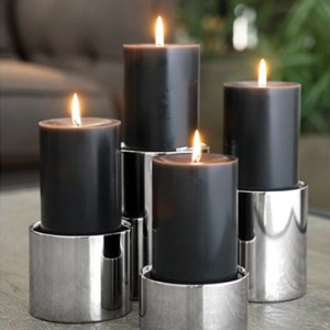 Kerzen and Kerzenhalter