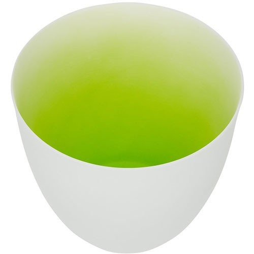 Teelichthalter weiss-gruen