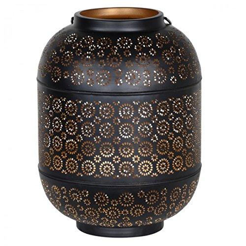 Oriental Windlicht schwarz braun
