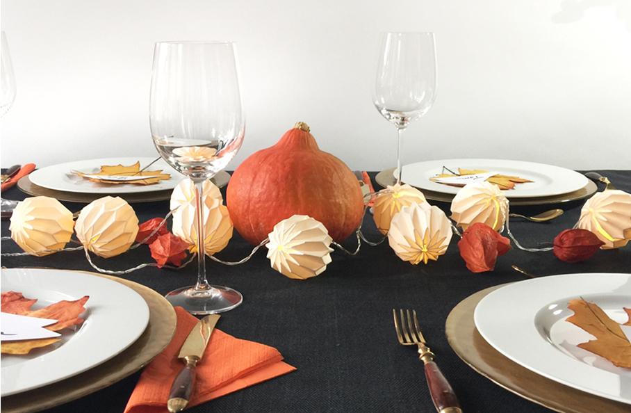 Herbstliche Tischdeko Ideen